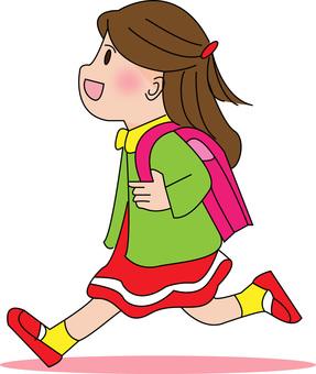 Elementary school girls