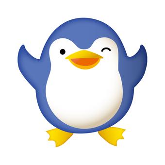 Penguin joyful