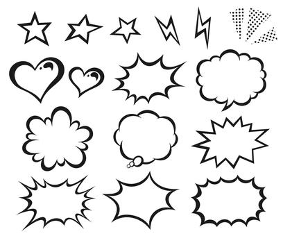미국 만화 바람 풍선 세트 _02