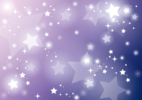 Purple Starry Sky Background 01