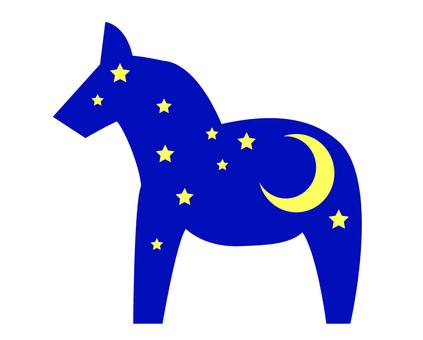 馬和夜晚的設計
