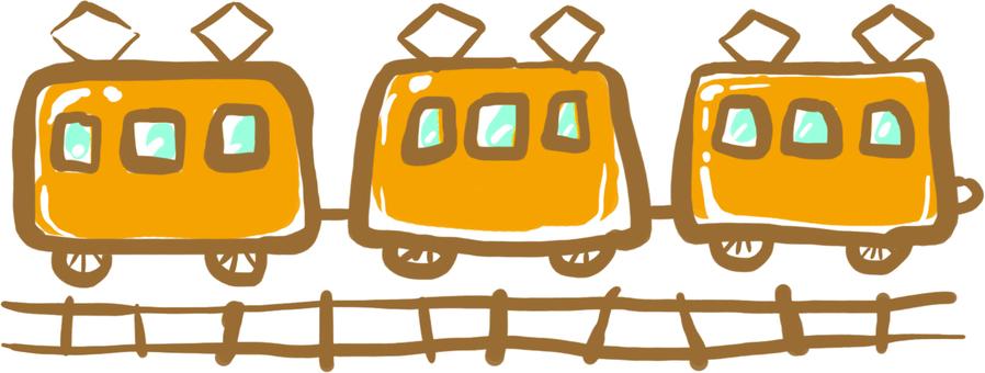 Vehicle seed ★ Orange train ★