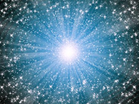 Glittering star 1