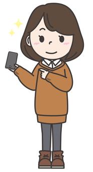 Female _ smartphone 1