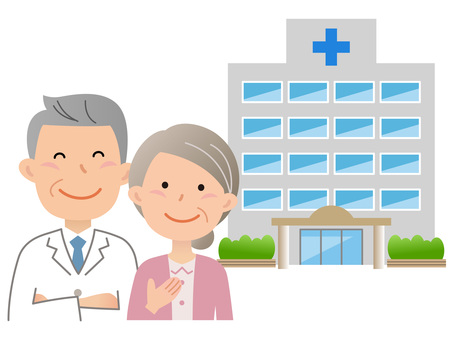 60823. Doctor and patient, hospital