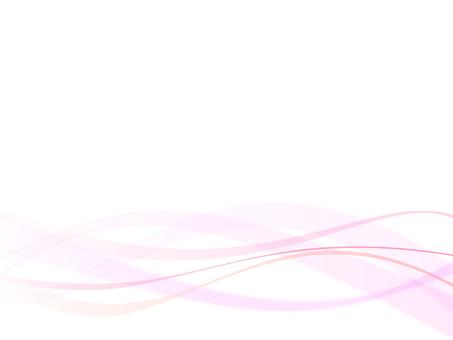 波浪粉紅色簡單
