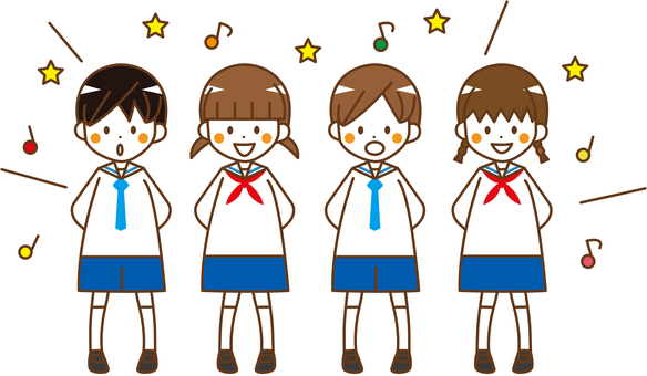 Kindergarten children male and female play _No.02