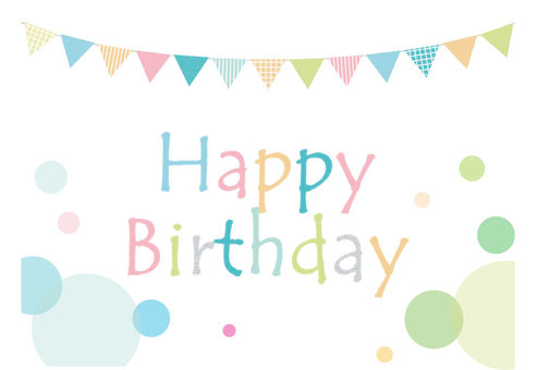 Birthday Garland (pastel)