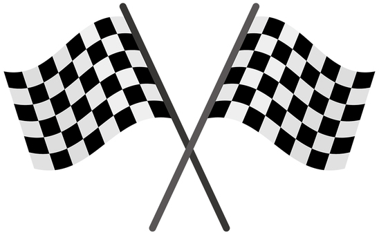 Checkered flag - 01