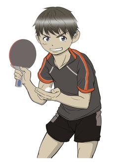 卓球8(台なし)