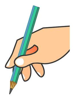 Having a pen · Pencil