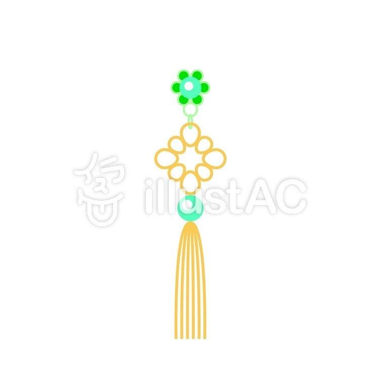 韓国風の飾り2イラスト No 224539無料イラストならイラストac