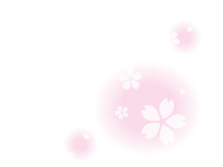 코너 장식 _ 벚꽃