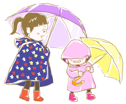 Outing on a rainy day