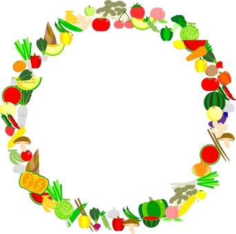 Vegetable fruit cake