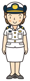 Maritime Self-Defense Force (summer clothes)