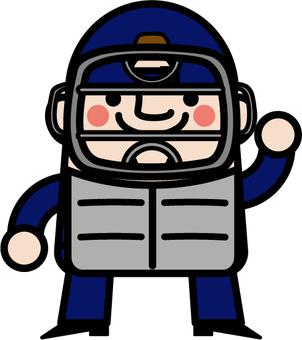 Uncle Fairy Baseball Referee