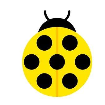 Ladybug (yellow)
