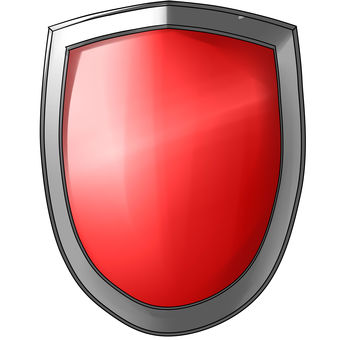 Easy material shield red