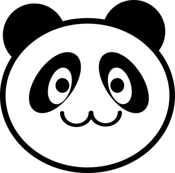 Panda (face only)