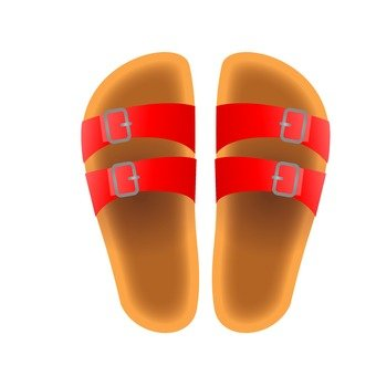 Sandal (red)