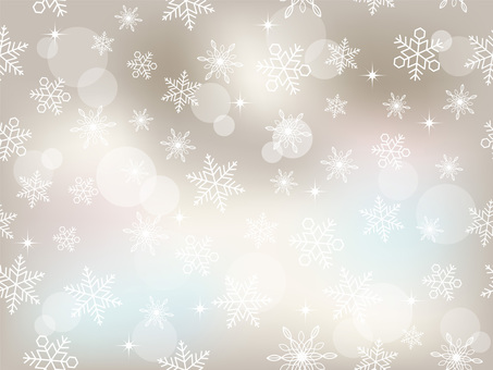 Seamless snow background in both vertical and horizontal directions Gray