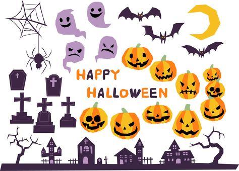 Halloween set (no lines)