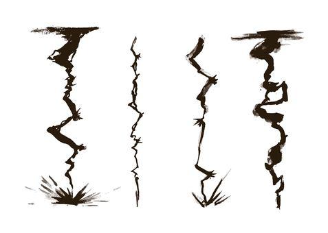 カミナリ墨