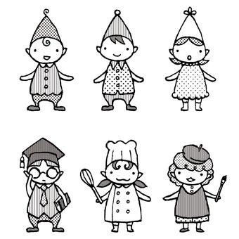Fairy children 1c