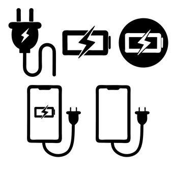 充電のアイコン