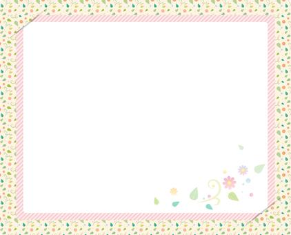 Spring pattern frame