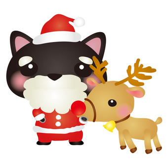 Black Cat Santa 3