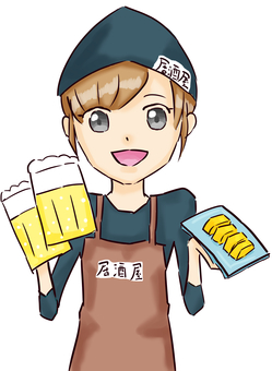 Izakaya clerk (female)