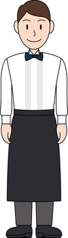 Occupation uniform waiter