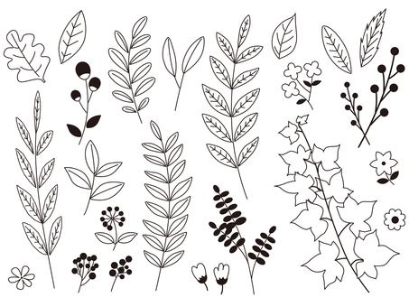 Linework plant material collection