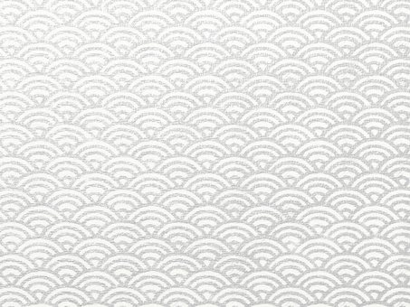 Background material Printmaking style Qinghai wave canvas Silver