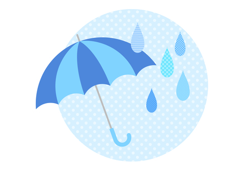 Rainy season image material 76