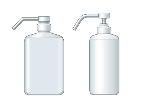 Various bottle illustrations