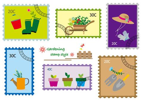Stamp Wind Series 2 Gardening