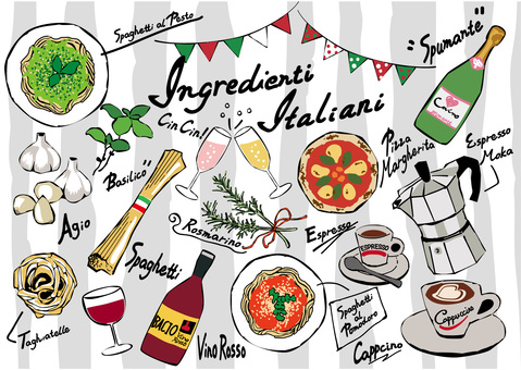 이탈리아 음식 01