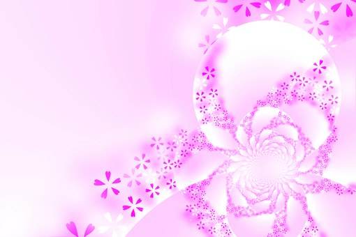 Background material · Sakura (pink)