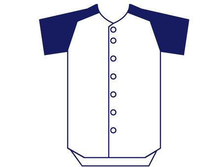 Baseball uniform jersey 3