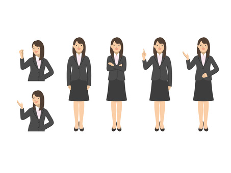 Business woman - set 5