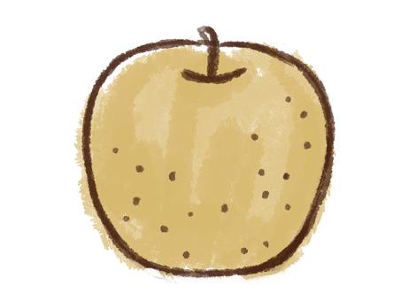 Crayon series [Pear]