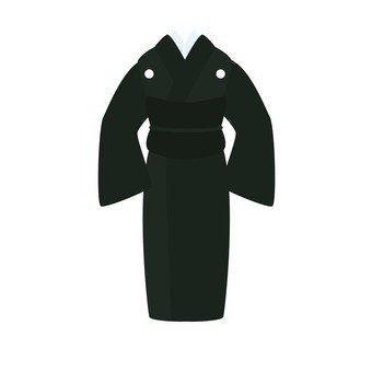 Mourning (female kimono)