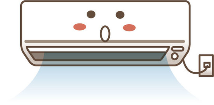 Character of air-conditioner (cooling) 3