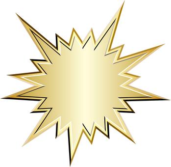 Gold bomb