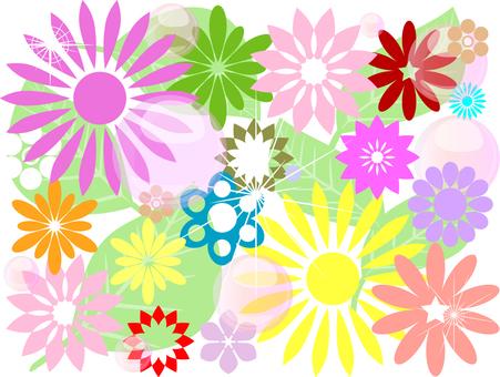 꽃 장식 02
