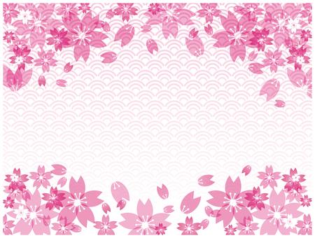 벚꽃 소재
