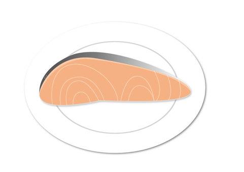 Salmon top